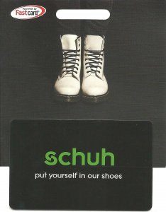 Schuh Gift Gift Card