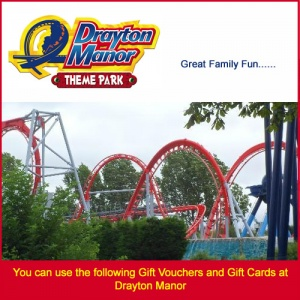 Drayton Manor Gift Vouchers