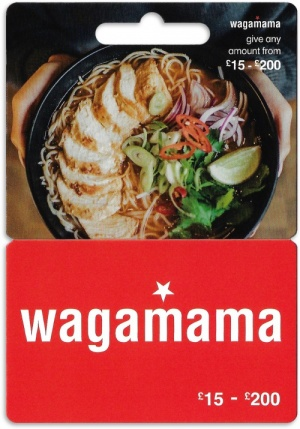Wagamama Gift Cards