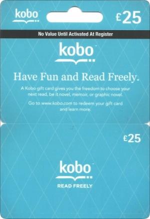 kobo Gift Card Voucherline