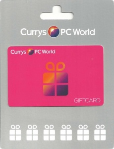 PC World Gift Cards