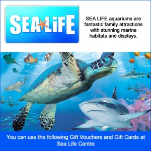 SEA LIFE centres and Sanctuaries Gift Card