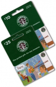 Starbucks Gift Gift Cards