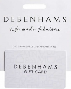 Debenhams Gift Cards