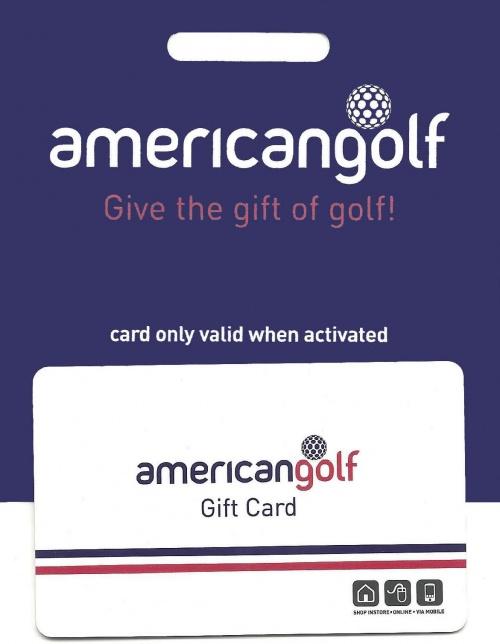 American Golf Gift Card Voucherline