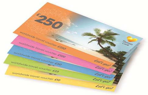 Thomas Cook Gift Vouchers Voucherline