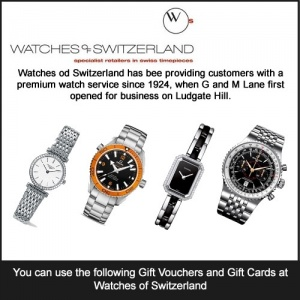 Watches of Switzerland Gift Card