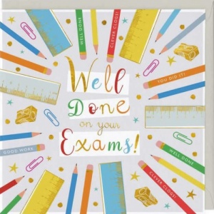 Well Done On Your Exams