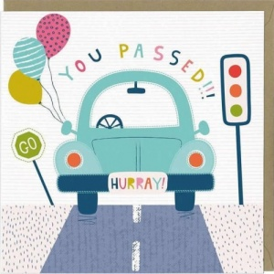 You Passed Your Driving Test Greeting Card