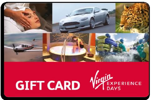 Virgin Experience Days Giftcard Voucherline