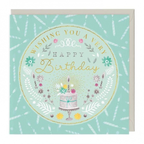 Wishing You A Very Happy Birthday Card Voucherline