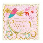 Beautiful Mum Birthday Card